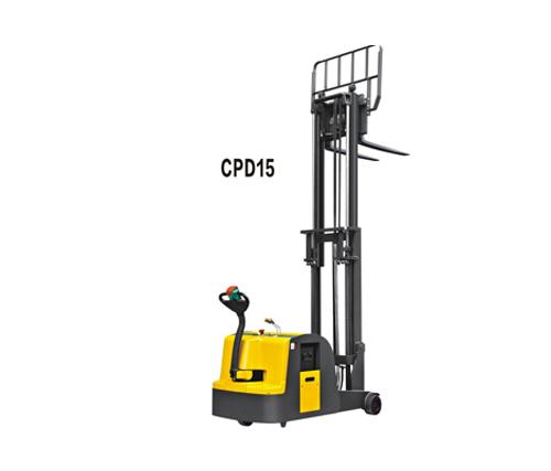 CPD15平衡重式全电动堆垛车